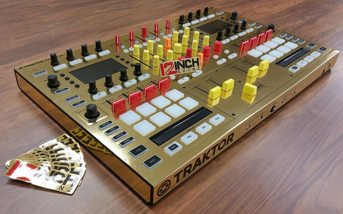 Native Instrumentd Kontrol S8 Skinz Metallics 12inchskinz